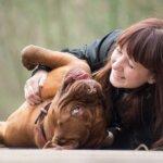 飼い主と愛犬、褒めて育てるトレーニング